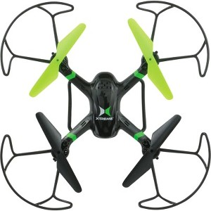 Xtreme Cables Black Raptor 6 Axis Quadcopter Drone with HD Camera