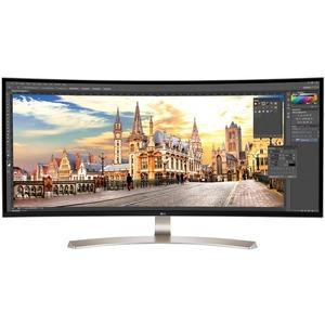 """LG Ultrawide 38UC99-W 37.5"""" WQHD+ Curved Screen LED LCD Monitor"""