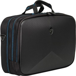 "Mobile Edge Alienware Vindicator Carrying Case (Briefcase) for 15"", Notebook, Tablet - Black, Teal"