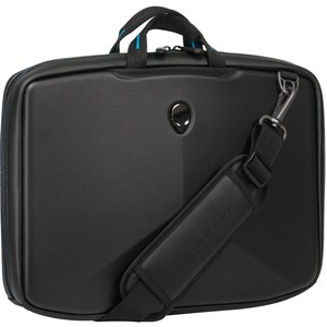 "Mobile Edge Alienware Vindicator Carrying Case (Briefcase) for 15.6"" Notebook - Black, Teal"