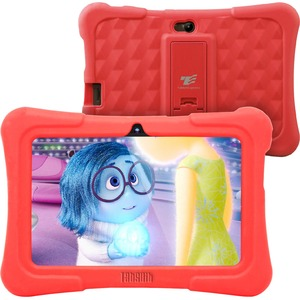 """Tablet Express Dragon Touch Y88X Plus Kids 7"""" Tablet Disney Edition, Kidoz Pre-Installed, Android 5.1, Red """
