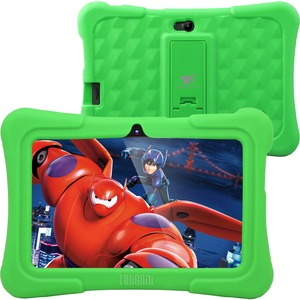 """Dragon Touch Y88X Plus Kids 7"""" Tablet Disney Edition, Kidoz Pre-Installed, Android 5.1 Green"""