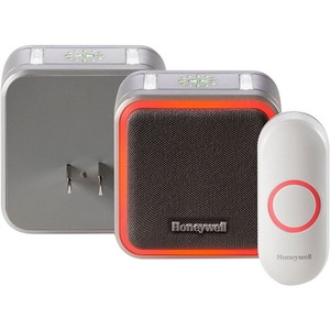 Honeywell 5 Series Plug-In Wireless Doorbell with Halo Light & Push Button - RDWL515P