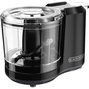 Black & Decker One-Touch 1.5 Cup Capacity Black Chopper