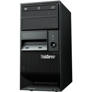 Lenovo ThinkServer TS150 70LV0032UX 4U Tower Server - 1 x Intel Xeon E3-1245 v5 Quad-core (4 Core) 3.50 GHz - 8 GB Installed DDR4 SDRAM - Serial ATA/600 Controller - 0, 1, 5, ...(more)