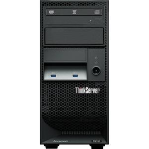 Lenovo ThinkServer TS150 70LV0036UX 4U Tower Server - 1 x Intel Xeon E3-1225 v5 Quad-core (4 Core) 3.30 GHz - 8 GB Installed DDR4 SDRAM - Serial ATA/600 Controller - 0, 1, 5, ...(more)