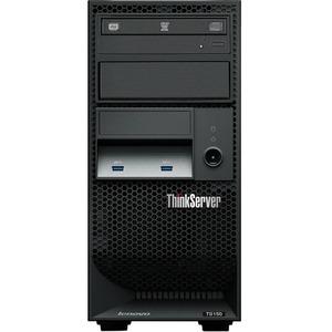 Lenovo ThinkServer TS150 70LV0037UX 4U Tower Server - 1 x Intel Xeon E3-1245 v5 Quad-core (4 Core) 3.50 GHz - 8 GB Installed DDR4 SDRAM - Serial ATA/600 Controller - 0, 1, 5, ...(more)