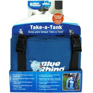 Mr. Bar.B.Q Take-A-Tank Carrying Case for Gas Cylinder - Blue