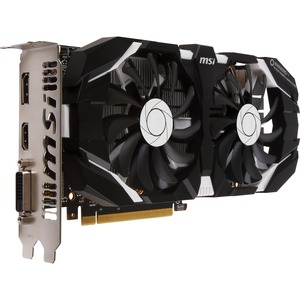 MSI GTX 1060 6GT OCV1 GeForce GTX 1060 Graphic Card - 1.54 GHz Core - 1.76 GHz Boost Clock - 6 GB GDDR5 - PCI Express 3.0 x16