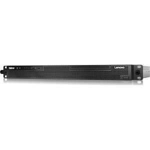 Lenovo ThinkServer RS160 70TG000KUX 1U Rack Server - 1 x Intel Xeon E3-1220 v5 Quad-core (4 Core) 3 GHz - 8 GB Installed DDR4 SDRAM - Serial ATA/600 Controller - 0, 1, 5, 10 R ...(more)