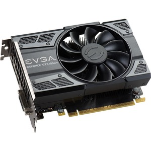 EVGA GeForce 1050 Ti Graphic Card - 1.29 GHz Core - 1.39 GHz Boost Clock - 4 GB GDDR5 - PCI Express 3.0 x16 - Dual Slot Space Required