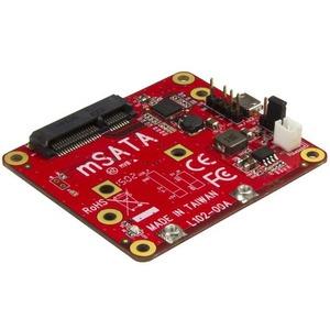 StarTech.com USB to mSATA Converter for Raspberry Pi and Development Boards - USB to mini SATA Adapter for Raspberry Pi