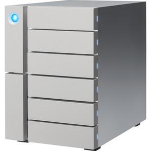 LaCie 6big STFK36000400 DAS Array - 6 x HDD Supported - 6 x HDD Installed - 36 TB Installed HDD Capacity