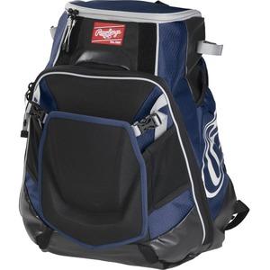 Rawlings Velo Carrying Case (Backpack) for Notebook, Tablet, Baseball Bat - Navy