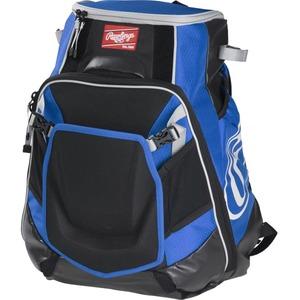 Rawlings Velo Carrying Case (Backpack) for Notebook, Tablet, Baseball Bat - Royal, Black