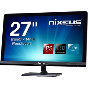"Nixeus PRO Vue NX-VUE27P 27"" LED LCD Monitor - 16:9 - 6 ms"