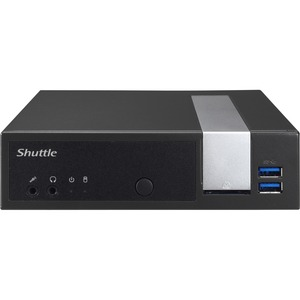 Shuttle XPC DX30 Desktop Computer - Intel Celeron J3355 2 GHz DDR3L SDRAM - Slim PC