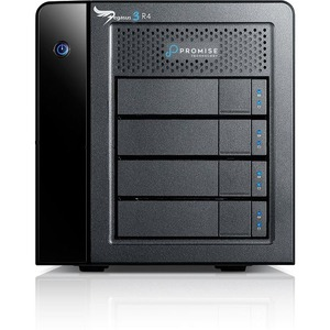 Promise Pegasus3 R4 DAS Array - 4 x HDD Supported - 4 x HDD Installed - 12 TB Installed HDD Capacity