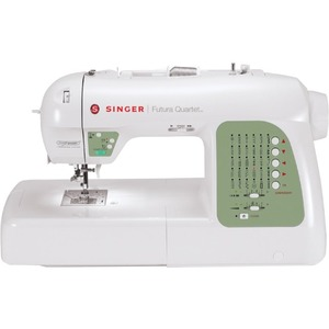 Singer Futura Quartet SEQS-6000 Electric Sewing/Embroidery Machine