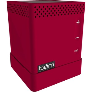 Bem HL2739F Speaker System - 3 W RMS - Portable - Battery Rechargeable - Wireless Speaker(s) - Red