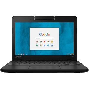 "Lenovo N23 80YS000CUS 11.6"" Touchscreen LCD Chromebook - Intel Celeron N3060 Dual-core (2 Core) 1.60 GHz - 4 GB DDR3L SDRAM - 16 GB Flash Memory - Chrome OS - 1366 x 768 - In- ...(more)"