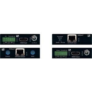 Key Digital HDBaseT/HDMI via Single CAT5e/6 (Tx + Rx Set) Extenders with HDR10, HDCP2.2, 4K