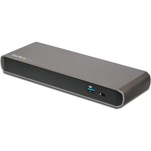 StarTech.com Thunderbolt 3 Dual-4K Docking Station for Laptops - Mac and Windows - Thunderbolt 3 Dock for MacBook Pro