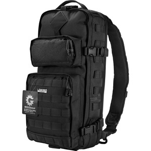 Loaded Gear BI12026 Carrying Case (Backpack) for Gear, Tools, Accessories, Electronic Device - Black