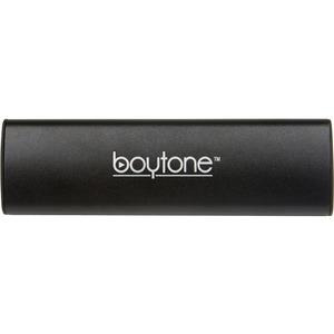 boytone BT-120BK 2.0 Speaker System - 6 W RMS - Portable - Battery Rechargeable - Wireless Speaker(s) - Black