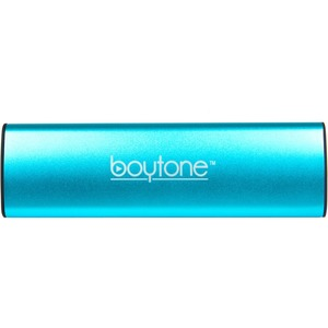 boytone BT-120BL 2.0 Speaker System - 6 W RMS - Portable - Battery Rechargeable - Wireless Speaker(s) - Blue