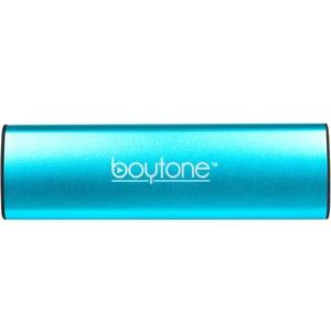 boytone BT-120BL 2.0 Speaker System - 6 W RMS - Portable - Battery Rechargeable - Wireless Speaker(s) - Blue