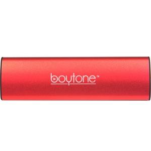 boytone BT-120RD 2.0 Speaker System - 6 W RMS - Portable - Battery Rechargeable - Wireless Speaker(s) - Red