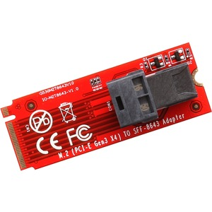 IO Crest U.2 (SFF-8639) to M.2 M-Key NVMe Adapter