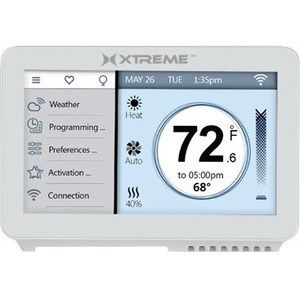 "Simple Home 4.5"" WiFi Touchscreen Thermostat"