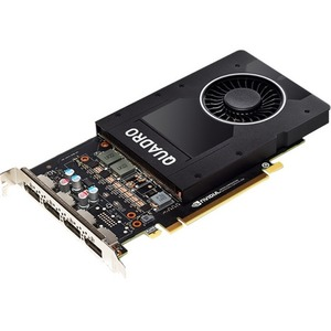 PNY Quadro P2000 Graphic Card - 5 GB GDDR5 - PCI Express 3.0 x16 - Full-height - Single Slot Space Required