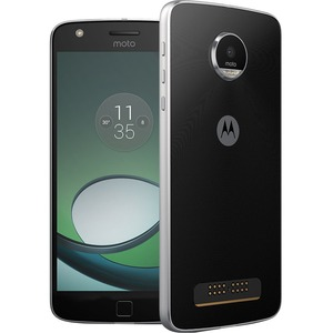 "Motorola Moto Z Play 32 GB Smartphone - 4G - 5.5"" Super AMOLED 1920 x 1080 Full HD Touchscreen - Qualcomm Snapdragon 625 Octa-core (8 Core) 2 GHz - 3 GB RAM - 16 Megapixel Rea ...(more)"