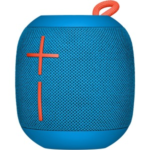 Ultimate Ears WONDERBOOM Speaker System - Portable - Battery Rechargeable - Wireless Speaker(s) - SubZero Blue