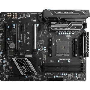 Open Box: MSI X370 SLI PLUS Desktop Motherboard - AMD Chipset - Socket AM4