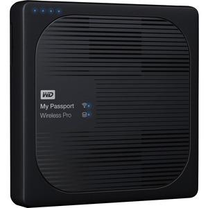 WD 4TB My Passport Wireless Pro Portable External Hard Drive - WiFi AC, SD, USB 3.0