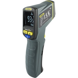 General ToolSmart BlueTooth Connected Infrared Thermometer