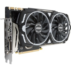 MSI GTX 1080 Ti ARMOR 11G OC GeForce GTX 1080 Ti Graphic Card - 1.53 GHz Core - 1.65 GHz Boost Clock - 11 GB GDDR5X - PCI Express 3.0 x16