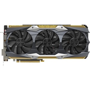 Zotac GeForce GTX 1080 Ti Graphic Card - 1.65 GHz Core - 1.76 GHz Boost Clock - 11 GB GDDR5X - PCI Express 3.0 - Triple Slot Space Required
