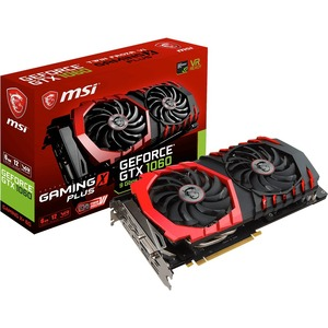 MSI GTX 1060 GAMING X+ 6G GeForce GTX 1060 Graphic Card - 1.59 GHz Core - 1.81 GHz Boost Clock - 6 GB GDDR5 - PCI Express 3.0 x16