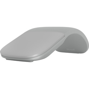 Microsoft Surface Arc Touch Mouse - Wireless - Bluetooth - Platinum