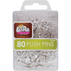 Mega Brands The Board Dudes Clear Push Pins