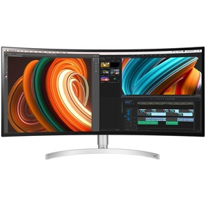 "LG Ultrawide 34BK95C-W 34"" UW-QHD Curved Screen LCD Monitor"