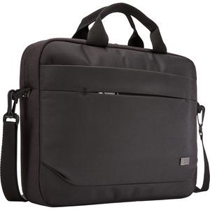 "Case Logic Advantage Carrying Case (Attaché) for 14"" Notebook, Tablet PC, Pen, Portable Electronics, Cord, Cellular Phone, File"