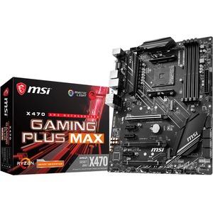 MSI X470 GAMING PLUS MAX Desktop Motherboard