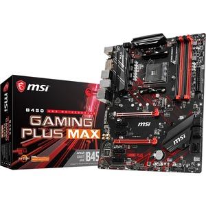 MSI B450 GAMING PLUS MAX Desktop Motherboard