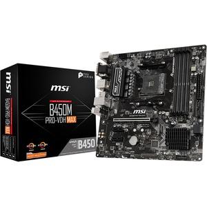 MSI B450M PRO-VDH MAX Desktop Motherboard